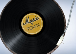 Music Town animation logo